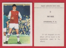 Arsenal Pat Rice Northern Ireland